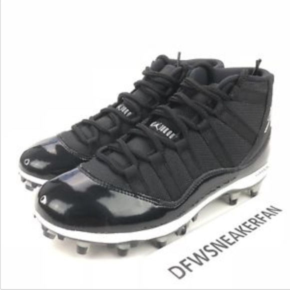 newest 298bc 45039 Nike Air Jordan XI 11 Retro TD Football Cleats